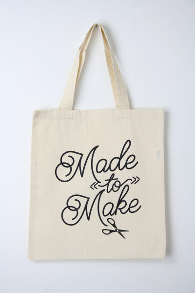 Made to Make Tote Bag