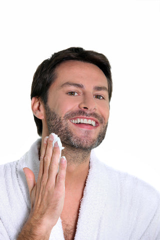How to clean beard