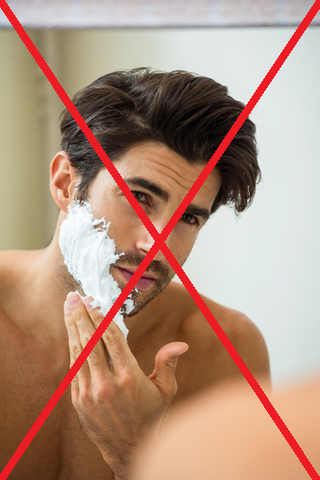 don't shave your patchy beard