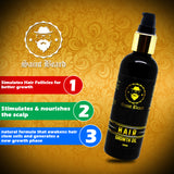 Saint Beard-Hair Growth oil (100 ml)