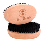 beard brush nylon bristle