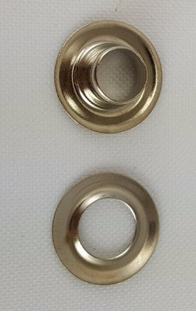 Nickel Plated Brass Grommet, Size 0