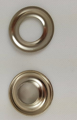 Nickel Plated Brass Grommet, Size 2