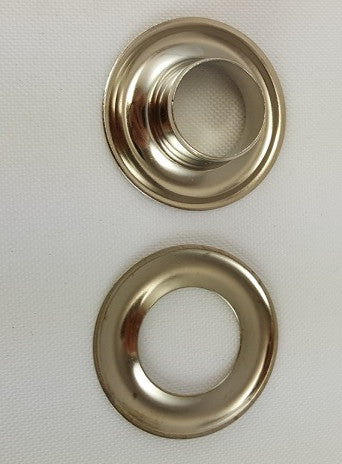 Nickel Plated Brass Grommet, Size 4