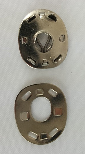 Socket with Clinch Plate, Long Prong