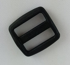"Double Slide, 5/8"", Black"