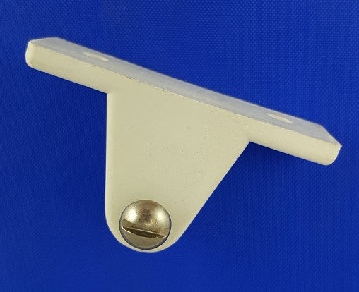 Deck Hinge, White Nylon