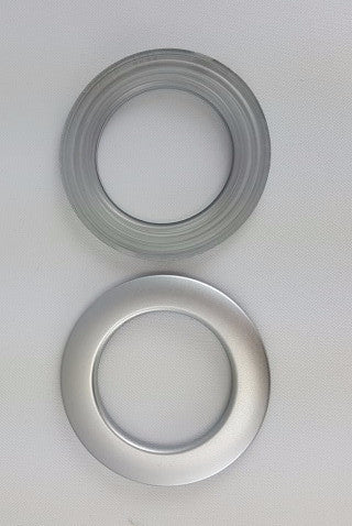 "Matte Silver Grommets, 1 3/8""	(10 pack)"