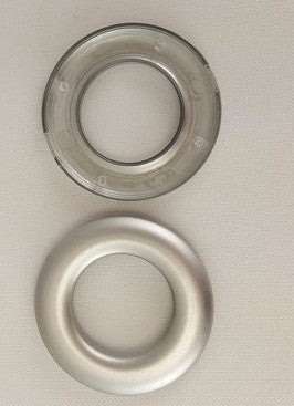 "Matte Silver Grommets, 13/16"" (10 pack)"