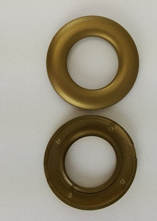 "Antique Brass Grommets, 13/16"" (10 pack)"