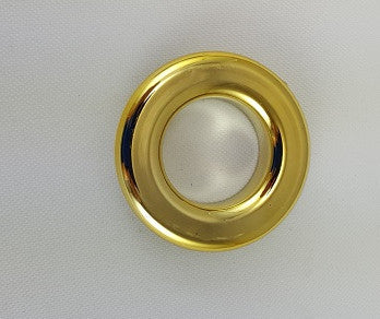 Polished Brass Grommets, 3/4""