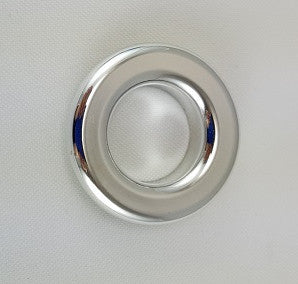 Polished Silver Grommets, 3/4""