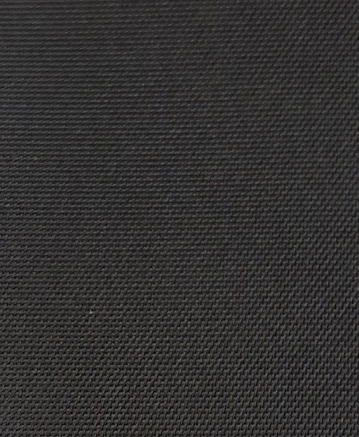 "1 yard (Black) 420 denier Nylon Pack Cloth, Polyurethane coated, 59"" Wide"