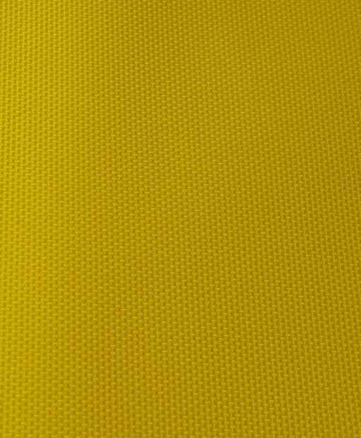 "1 yard (Yellow) 420 denier Nylon Pack Cloth, Polyurethane coated, 59"" Wide"
