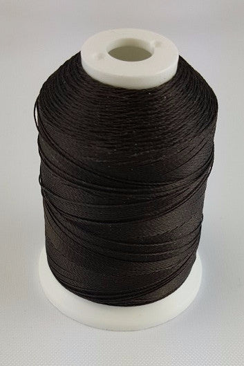 (Dark Brown) Marine Bonded Nylon Thread, V 69 Weight. (100% Nylon)