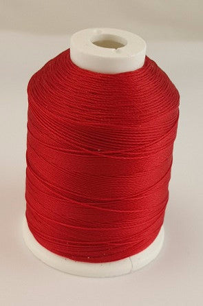 (Red) Marine Bonded Nylon Thread, V 69 Weight. (100% Nylon)