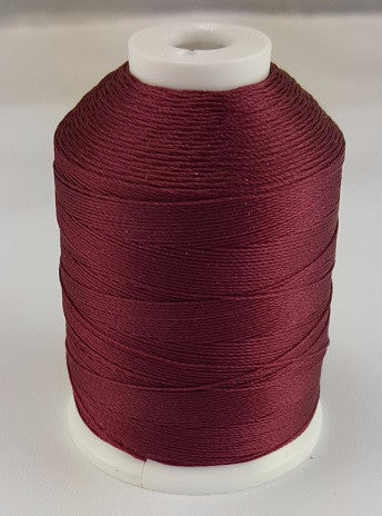 (Wine) Marine Bonded Nylon Thread, V 69 Weight. (100% Nylon)