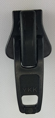 Single Nylon Slides, #10, Black