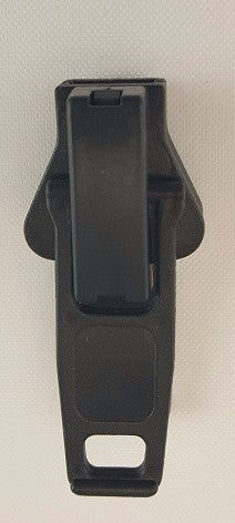 Double Nylon Slide, #10, Black