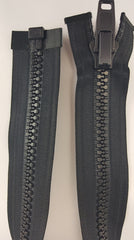 "(Black) 18"" Heavy Duty Zipper"