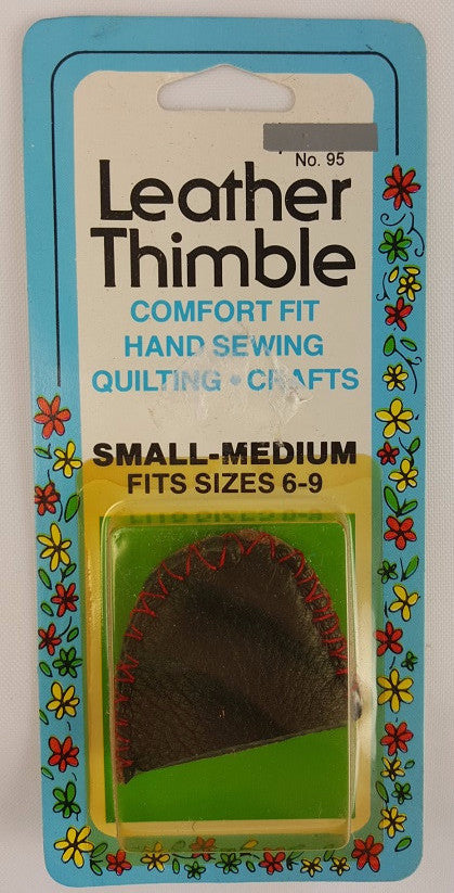 Leather Thimble, Small
