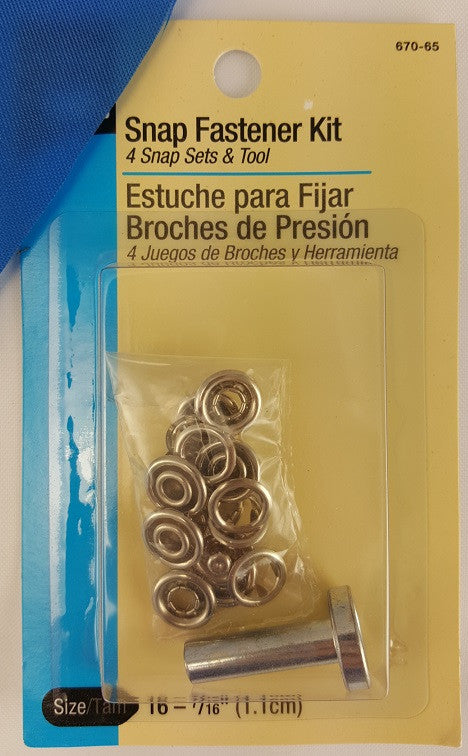 Infant Snap Fastener Kit