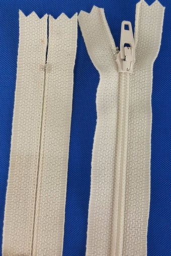(Natural) Dress Zipper, 18""