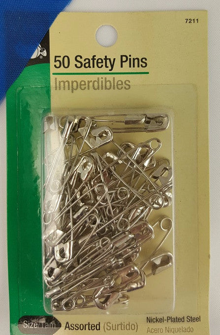 Safety Pins (50 pack)