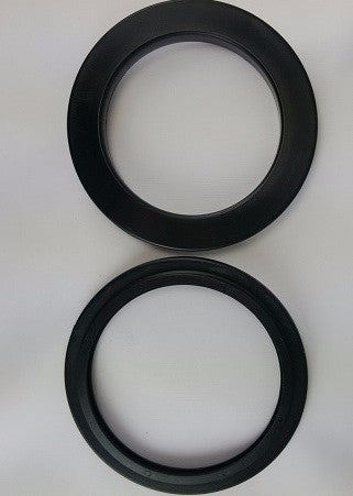 (Black) Large Curtain Grommets -2 3/4""