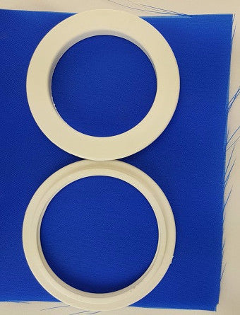 (White) Large Curtain Grommets -2 3/4""