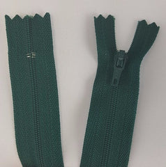 (Dark Green) Pants Zippers 9""