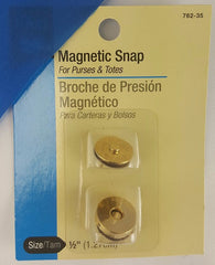"Magnetic Snaps (1/2"" Gold)"