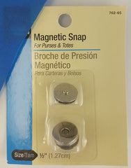 "Magnetic Snaps (1/2"" Nickel)"