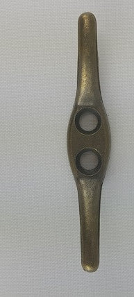 Antique Brass Drapery Cleat, 2 1/2''