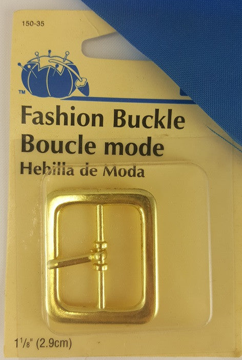 Buckle Gold 1 1/8''