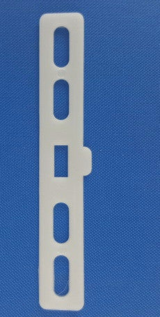 Vertical Fabric Slat Hanger-White  (20 per pk)