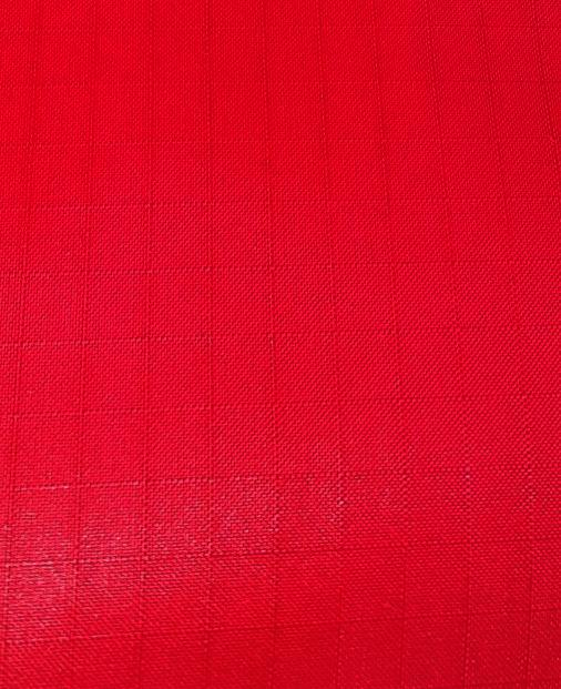 "1 Yard (Red) Ripstop Nylon Fabric 59"" wide."