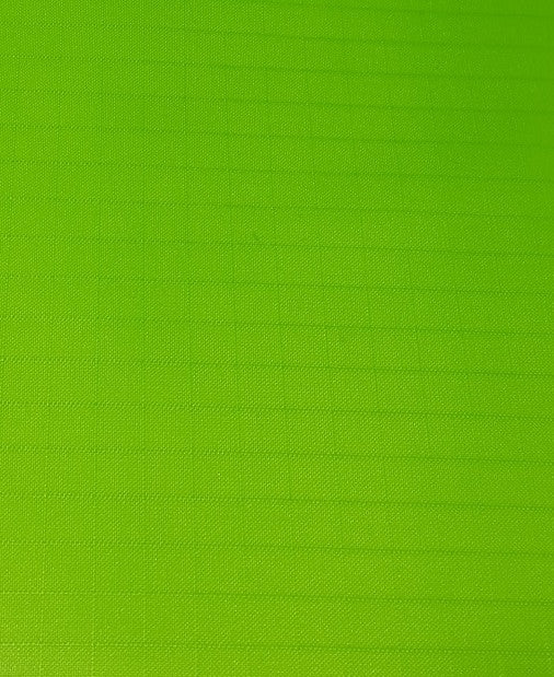 "1 Yard (Neon Lime) Ripstop Nylon Fabric 59"" wide."
