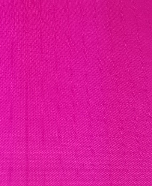 "1 Yard Neon Hot Pink Ripstop Nylon Fabric 60"" wide"