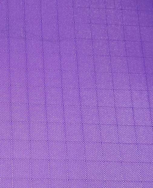 "1 Yard Purple Ripstop Nylon Fabric 60"" inches wide"