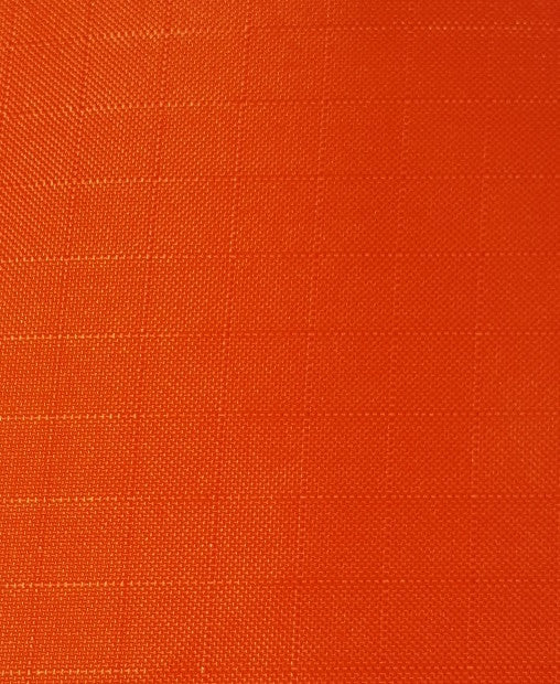 "1 Yard (Orange) Ripstop Nylon Fabric 59"" wide."