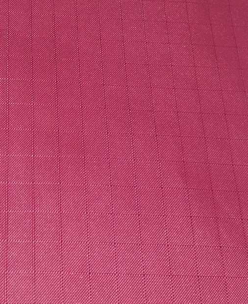 "1 Yard (Burgundy) Ripstop Nylon Fabric 59"" wide."