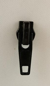 Nylon Coil Zipper Pull Black (each)