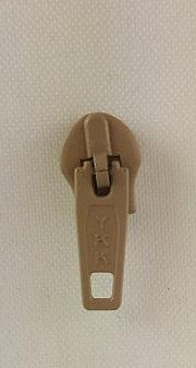Nylon Zipper Slide 4.5 Tan (each)