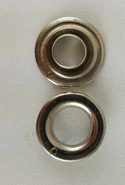 Nickel Plated Spur Grommets Size 0
