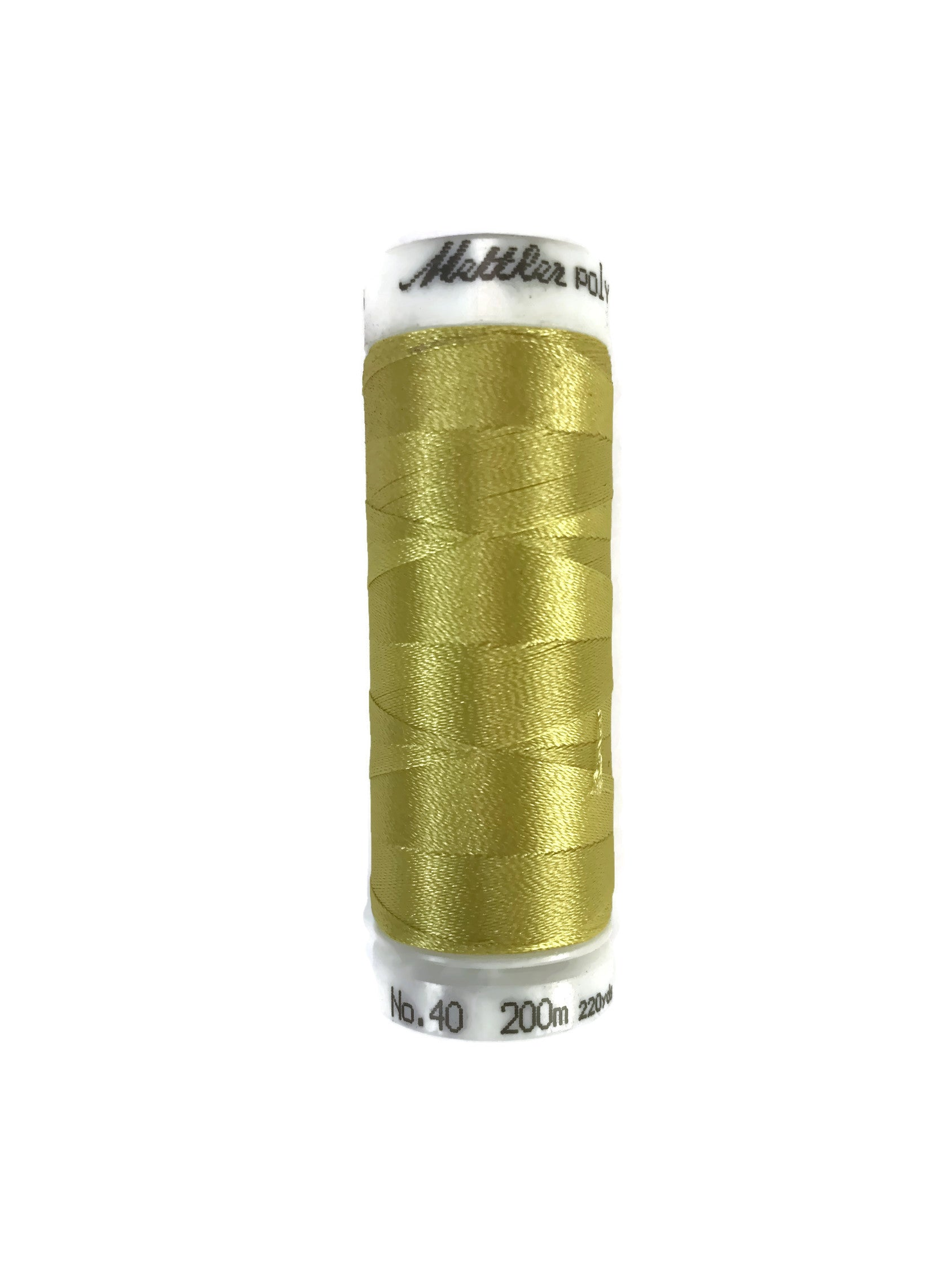 Mettler Poly Sheen Thread Colour 0221 Light Brass