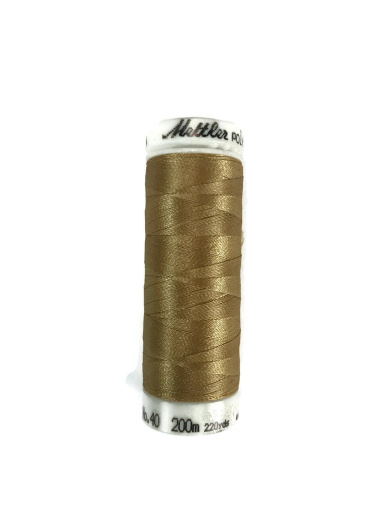 Mettler Poly Sheen Thread Colour 0552 Flax