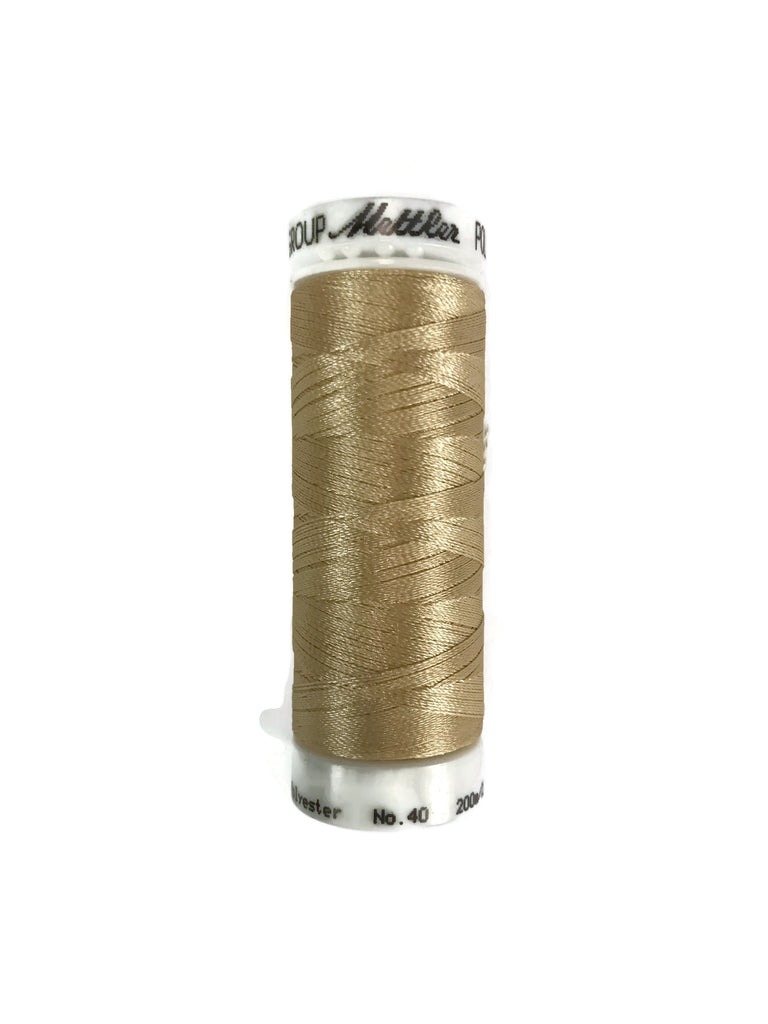 Mettler Poly Sheen Thread Colour 0651 Cornsilk