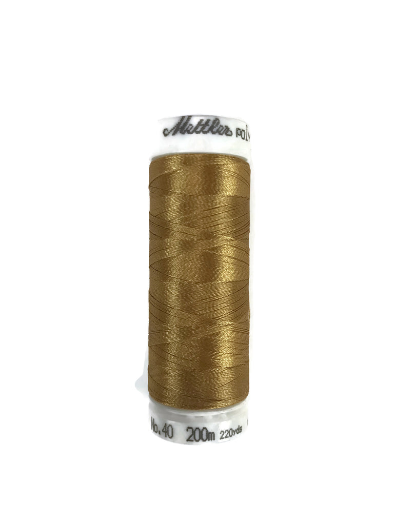 Mettler Poly Sheen Thread Colour 0822 Palamino