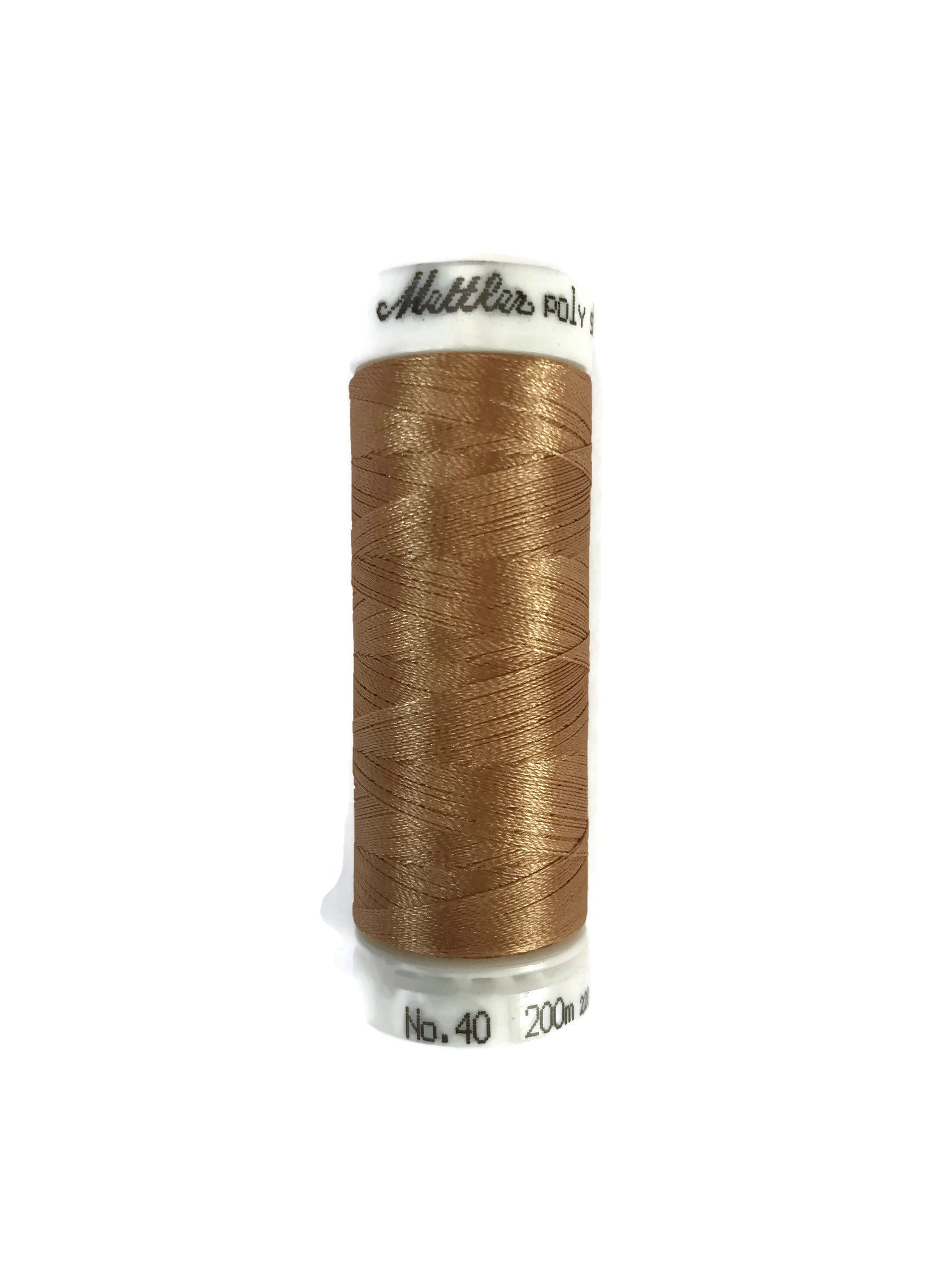 Mettler Poly Sheen Thread Colour 0842 Toffee